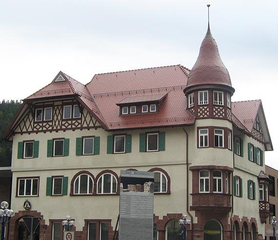 Projekt der Flaschnerei Smejkal - Bürgerhaus in Bad Liebenzell
