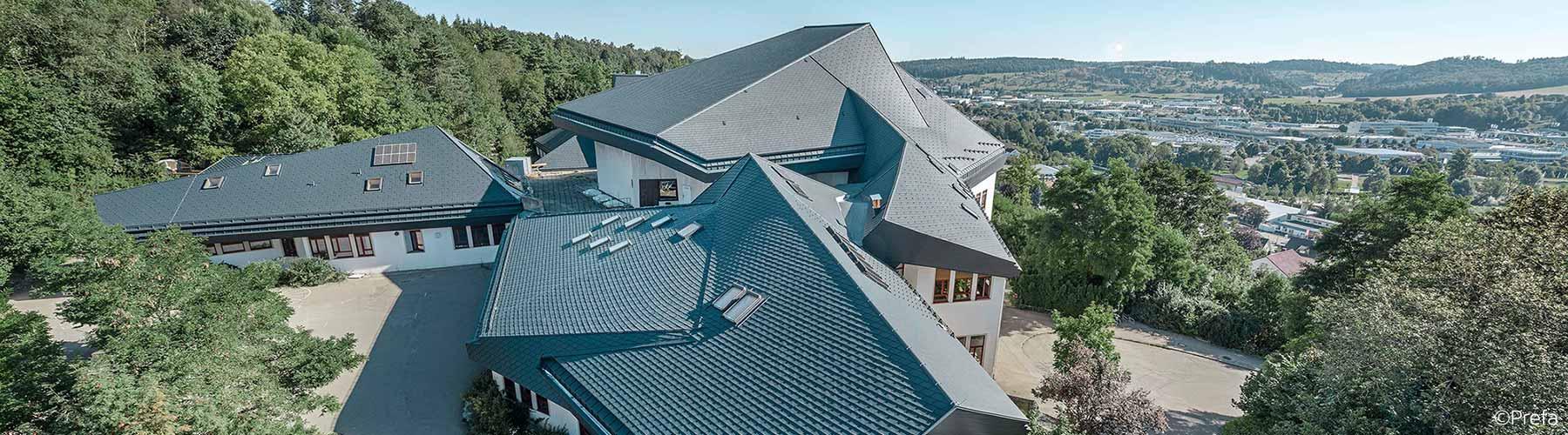 Ein Projekt von Flaschnerei Smejkal. Walldorfschule Heidenheim.